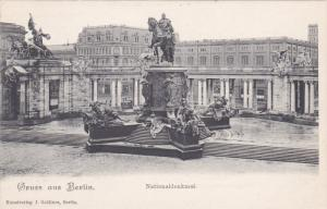 Gruss aus BERLIN , Germany, 1900-1910´s; Nationaldenkmal