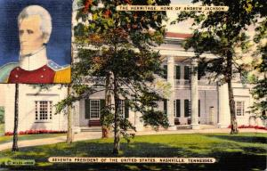 Tennessee Nashville The Hermitage Home Of Andrew Jackson
