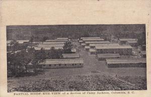 Camp Jackson , COLUMBIA , South Carolina , 1910s ; Bird's Eye View