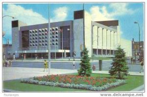 Centennial Concert Hall, Winnipeg, Manitoba, Canada, Chrome