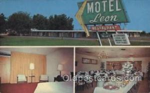 Leon Motel, Dothan, Alabama, USA Motel Hotel Postcard Postcards  Leon motel, ...