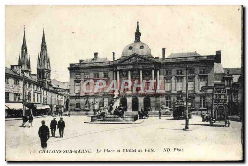 VINTAGE POSTCARD Trawl-nets On the Marne the Place and the t