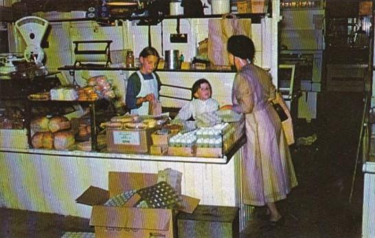 Amish Farmer's Market Stand Lancaster Pennsylvania