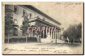 Postcard Aix en Provence Old Courthouse