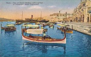 Malta , 00-10s : Grand Harbour , Valletta , Passenger boats