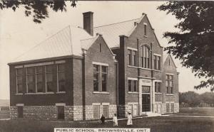 RP: BROWNSVILLE , Ontario, Canada, 1914 ; Public School