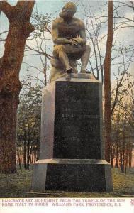 11302 Roger William´s Park Pancrat Rast Monument