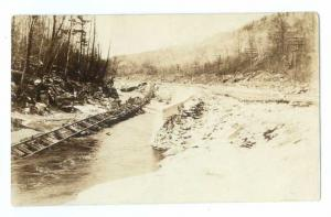 RPPC of Railroad Tracks after a Flood, Location not known