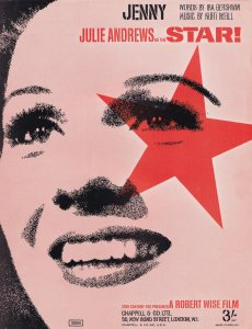 Jenny Julie Andrews Rare 1970s Sheet Music