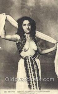 Egyptian Dancer Arab Nude Old Vintage Antique Post Card Post Card  Egyptian D...