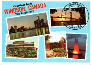 Greetings From Windsor Canada With Multi View