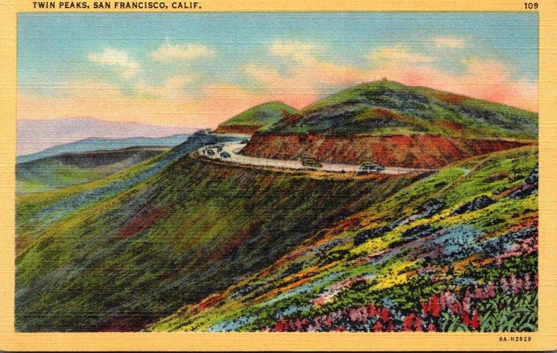 California San Francisco Twin Peaks