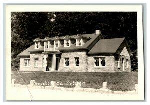 Braxton County Cottage Weston West Virginia Vintage Standard View RPPC Postcard