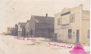 RP: DUNDURN , Saskatchewan , Canada , PU-1907; Front Street