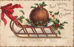 CLAPSADDLE ; Christmas , Sled , 00-10s