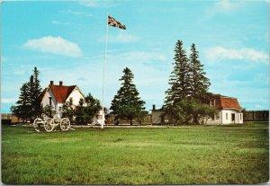 Battleford National Historic Park SK Saskatchewan Aerial View Unused Postcard C3