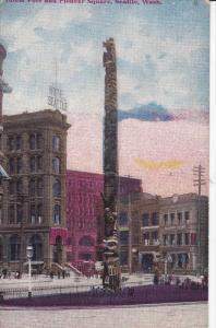 Totem Pole , SEATTLE , Washington , 00-10s