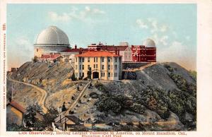 USA Lick Observatory having Largest Telescope on Mount Hamilton California