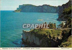 Modern Postcard Magnificent views of Cap Bon Ami The Gaspesie Quebec Canada