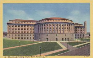 Educational Building Capitol Park Harrisburg Pennsylvania Curteich