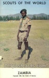 Zambia Boy Scouts of America, Scouting Postcard, Post Cards, Copyright 1968  ...