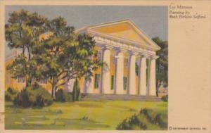 Virginia Arlington Lee Mansion Painting By Ruth Perkins Safford