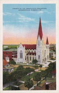 Florida Jacksonville Church Of The Immaculate Conception