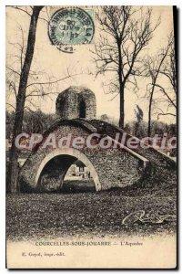 Postcard Old Courcelles Sous Jouarre Aqueduct