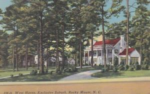 North Carolina Rocky Mount West Haven Residence Exclusive Suburb