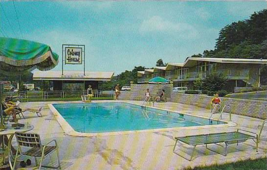 Virginia Roanoke Colony House Motor Lodge & Rstaurant With Pool