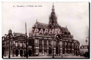 Old Postcard Roubaix Hotel de Ville