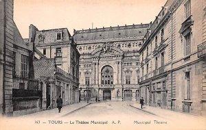 Le Theatre Municipal Tours France Unused