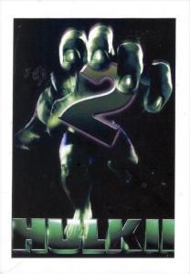 Movie Advertising postcard   The Incredible HULK   # 12