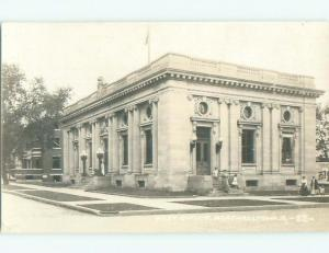 Pre-1930 rppc NICE VIEW Marshalltown Iowa IA i9513