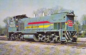 South Carolina Family Lines System Locomotive #4220 At North Charleston