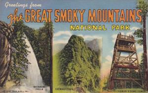 Greetings From The Great Smory Mountain National Park Tennessee