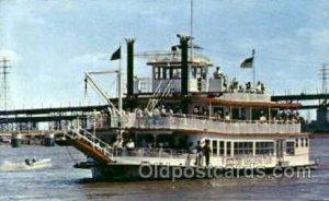 M.V. Huck Finn Ferry Boat Unused