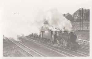 Train At Kilnhurst Station Vintage Railway Photo