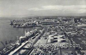 El Puerto mas importante en la costa del Pacific, Port on the Coast Callao, P...