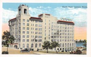 A84/ Lakeland Florida Fl Postcard c1915 Florida Hotel Building