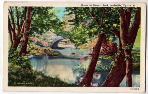 Seneca Park, Louisville KY  (creases)