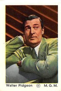 Movie Star Walter Pidgeon M.G.M.