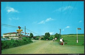 New Brunswick ~ Magnetic Hill on Highway 33, 3 miles from MONCTON 1950s-1970s