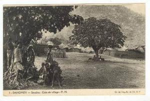 Coin de Village,Savalou,Dahomey,A frica,00-10s