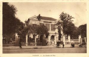 CPA Vietnam Indochine - Chochinchine - Saigon - Le Justice de Paix (85034)