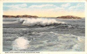 Surf Gloucester, Massachusetts Postcard