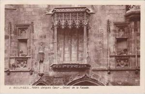 France Bourges Palais Jacques-Coeur Detail de la Facade