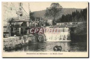Postcard Old water mill Excursion The Hedgehog Jeunet mill