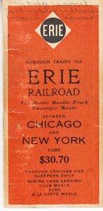 Erie Railrosd Pocket Notebook