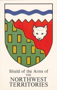 Shield of the Arms of the NORTHWEST TERRITORIES , Canada , 50-60s
